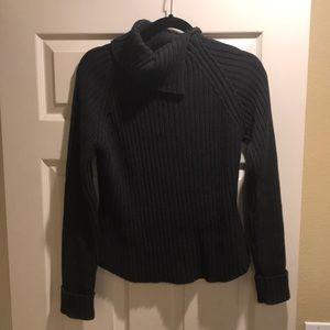 Sweaters - Gray, knit sweater